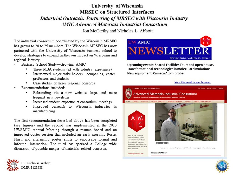 Wisconsin MRSE CIndus OutrMcCarthy AMIC