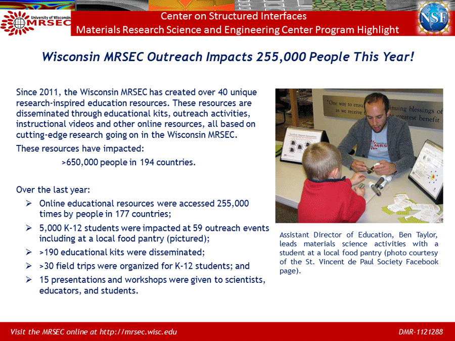 ieg outreach highlight powerpoint