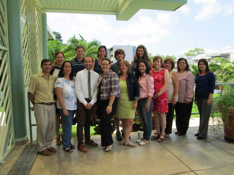 RET participants and staff during Captstone week in Mayagüez, Puerto Rico.